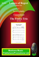 Piano Trio Letters Of Regret. Score And Parts Includes Cd