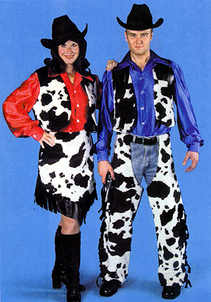 Cowboy Ans Cowgirl Costumes