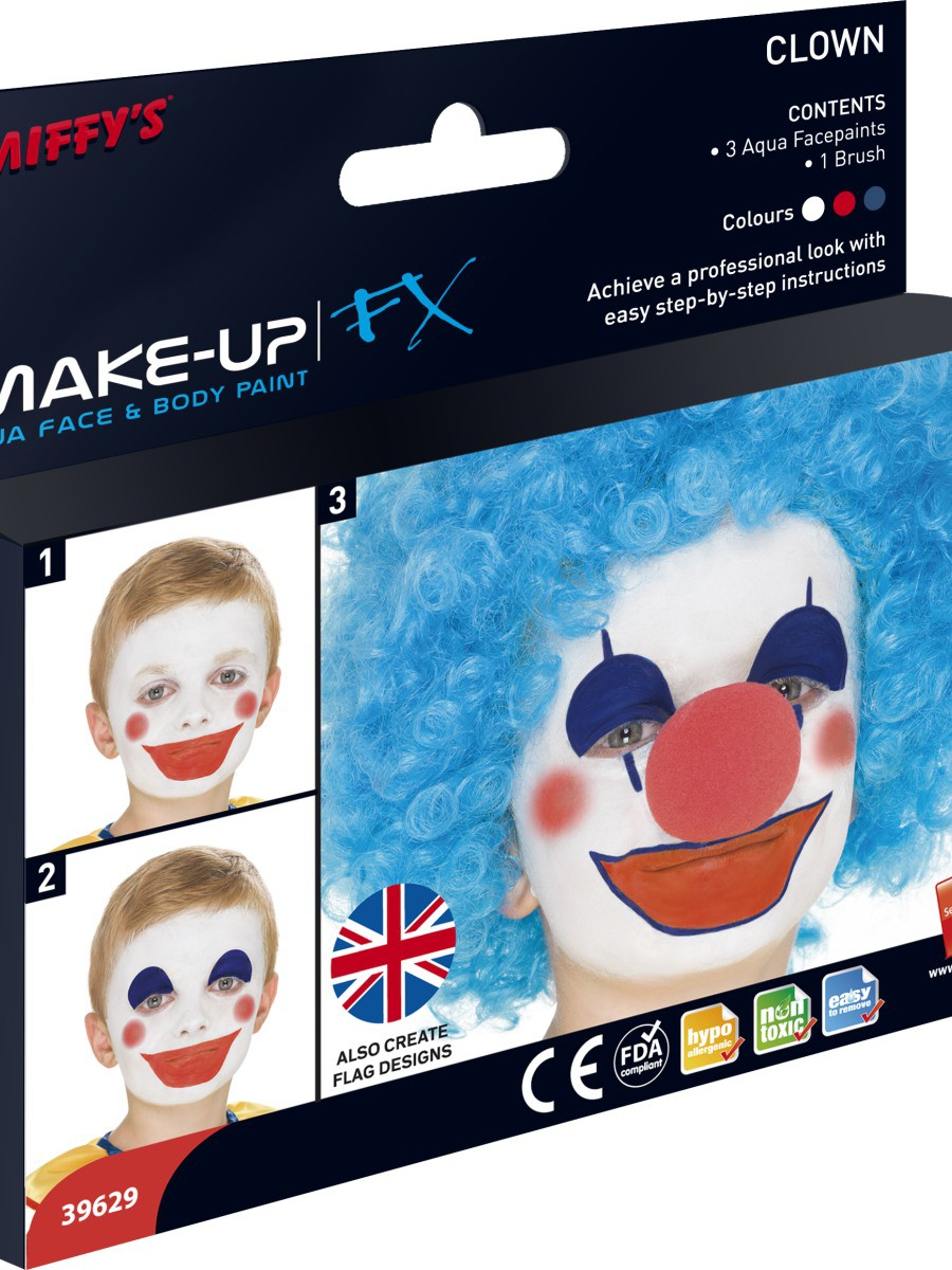 Red, White & Blue Face Paint