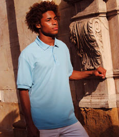 SS11 Fruit Of The Loom Pique Poloshirt