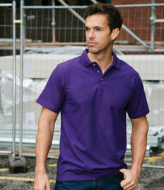 RT01 RTY Heavyweight Workwear Pique Polo Shirt
