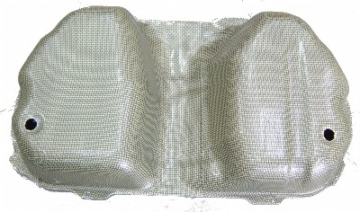 BP92 Evo 4 - 9 Kevlar Tank Guard