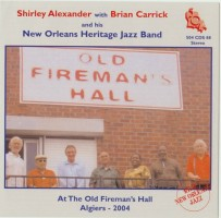 Shirley Alexander With Brian Carricks New Orleans Heritage Band
