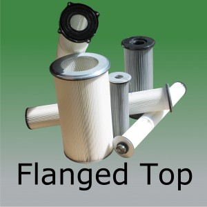 Flanged Top Filters