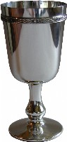 Pewter Celtic Goblet
