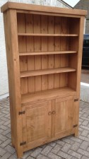 open top bookcase