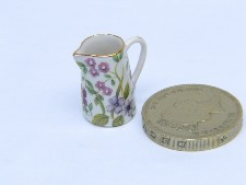 Pink And Mauve Flowers -19mm Jug (3/4