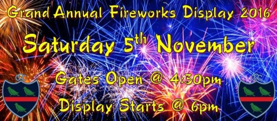 Fireworks Display at Chester-le-Street Cricket Club