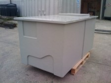 2x1x1m Pre-Insulated GRP Water Storage Tank