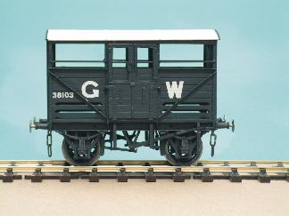 720 G.W.R./B.R. Small Cattle Wagon. Diag. W.3