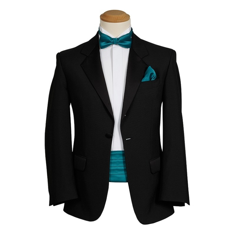 Black Self Tie Bow Tie at Amazon Mens Clothing store