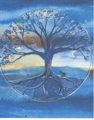 Tree of Life (Blue)