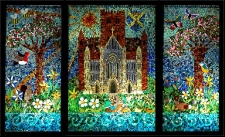 Abbey Primary school, St Albans - mosaic window