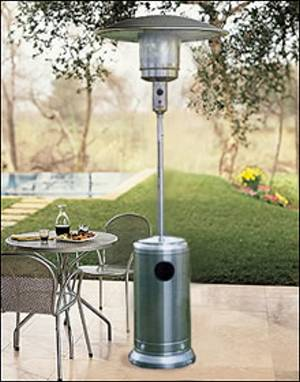 Stainless steel 16kw patio heater