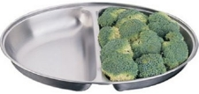 Stainless Steel Vegetable Dish