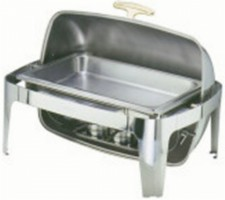 Open Roll Top Chafing Dish