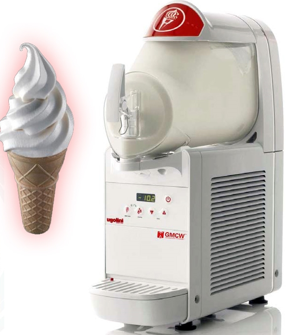 Soft Serve Dairy Ice Cream machine for Hire