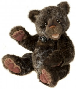32cm Romantic Charlie Bears Cecil By Heather Lyell Gorgeous Brown Twisted Fur