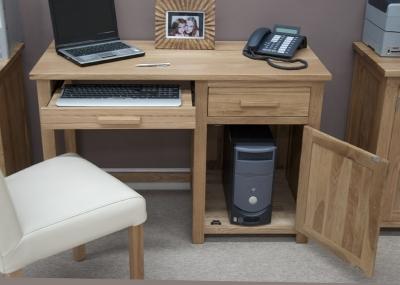 Modern Classic Small Oak Computer Desk Home Office Furniture