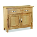 Tuscan oak small sideboard