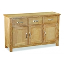 Tuscan oak large sideboard