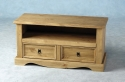 Corona Mexican Pine 2 drawer TV unit