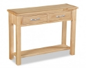 Tuscan Oak console table