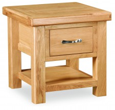 Chateau Lite Oak Lamp Table