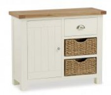 New England cream and oak Small Sideboard