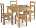 Corona Mexican Pine budget dining set