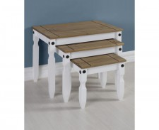 Corona White OR GREY Nest of tables
