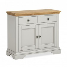 Chester grey and oak small sideboard