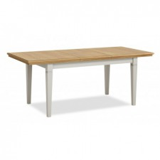 Chester grey and oak compact extending dining table