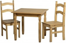 Rio dining set with 2 chairs