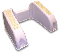 The Health Step from Ginacor - Ergonomically Designed for the Perfect Poo!