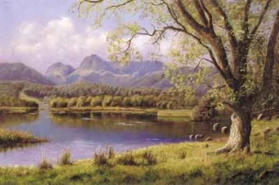 Midsummer Evening - Lake District