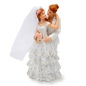 00002a Double Female Cake Topper