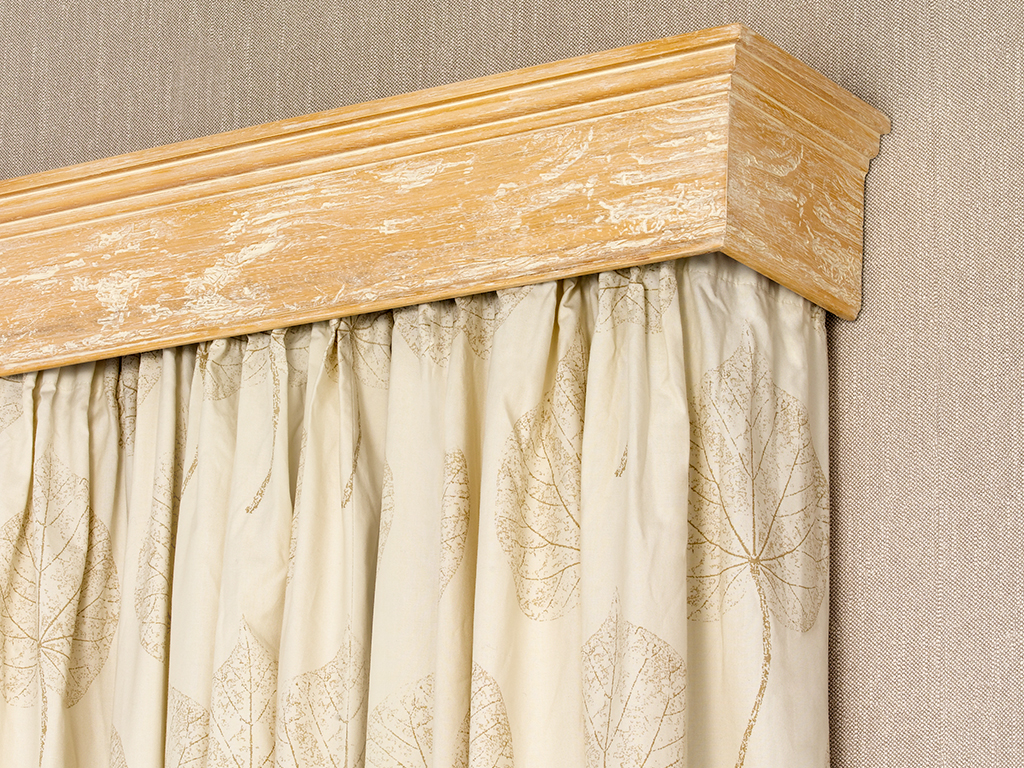Wooden pelmets made to measure for Wooden curtain pelmets