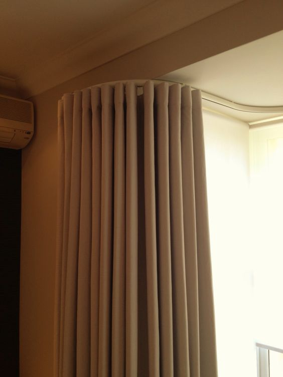 Silent Gliss Wave curtains