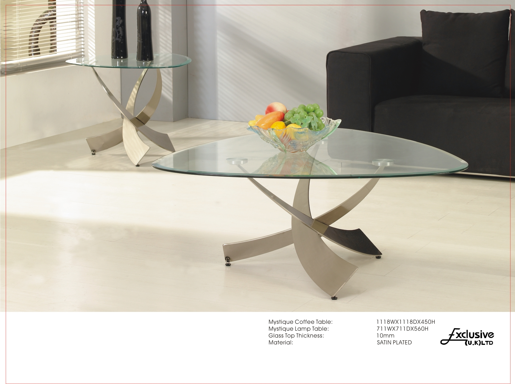 Coffee Tables Glass & Marble