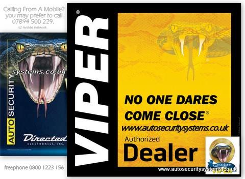 Fully Guaranteed Expert Car, Van and Motorhome Alarm Installations