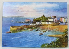card of tenby harbour
