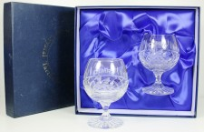 Welsh dragon brandy glasses