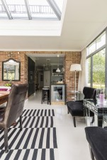 open plan conservatory extension