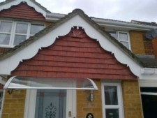 Ornamental PVC gables