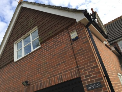 Replacement Fascia and Soffit - White PVCu 150mm 30m