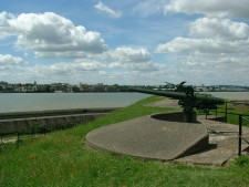 View from Tilbury Fort