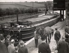 Barge Coronation at Preston Brook