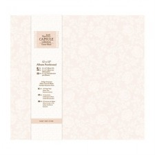 "12 X 12"" Album Postbound (10 Page Protectors) - Capsule Collection - Oyster Blush"