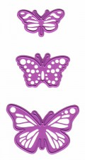 Joy Crafts Cutting & Embossing Stencil Butterfly nr. 1